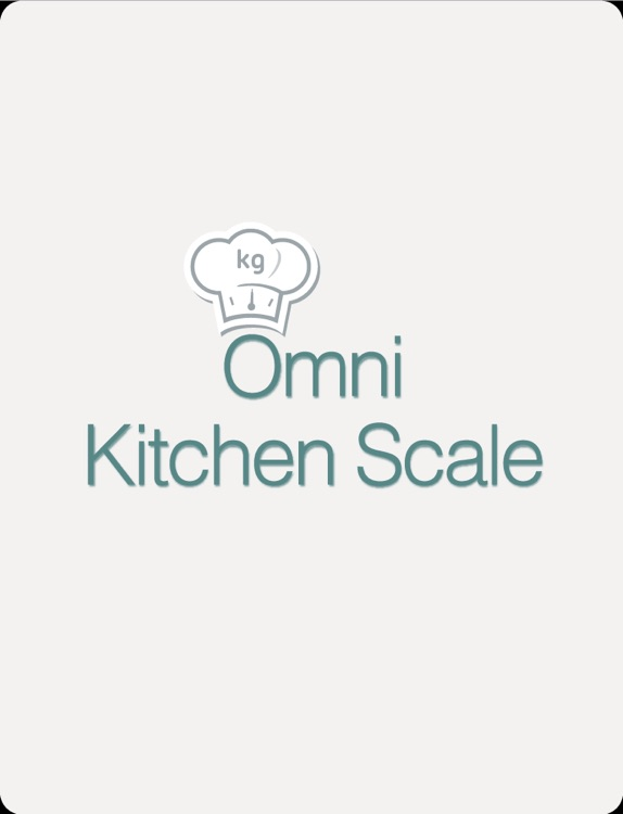 Omni Kitchen Scale