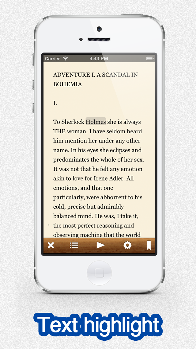 Voicepaper - The Text To Speech Voice Reader For Dropbox and Evernote screenshot three