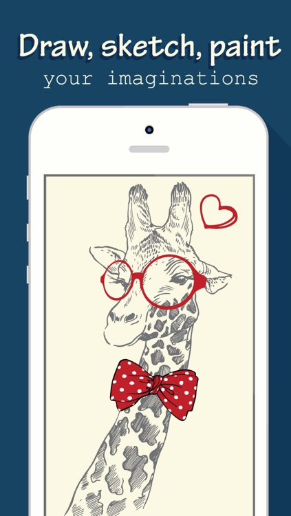Drawing Book Free - Draw, Paint, Sketch with pencils, brush and palettes with your fingers