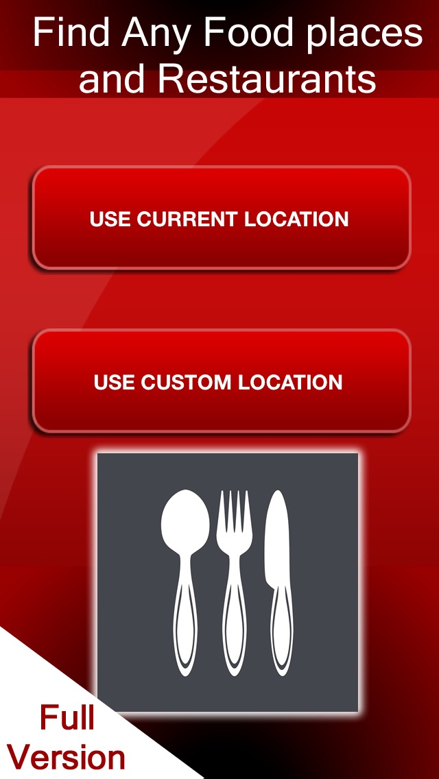 Screenshot 1 For Food Restaurants Bars Finder Find Where To Eat At My