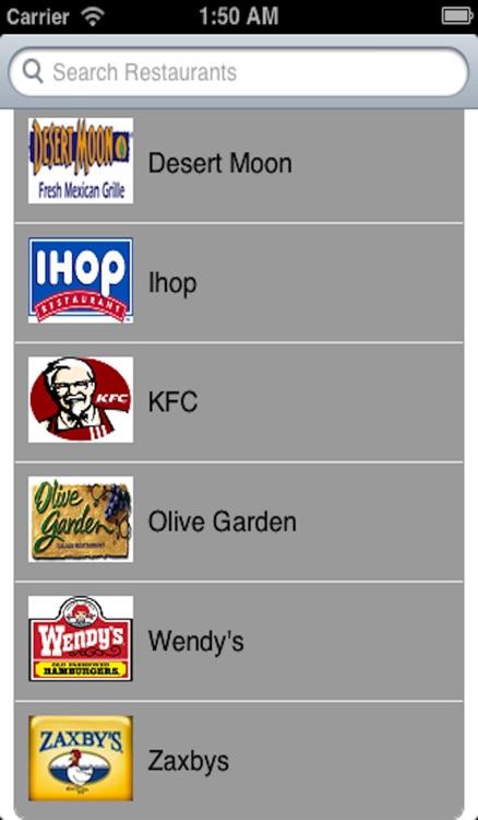 Fast Food Allergies screenshot-4