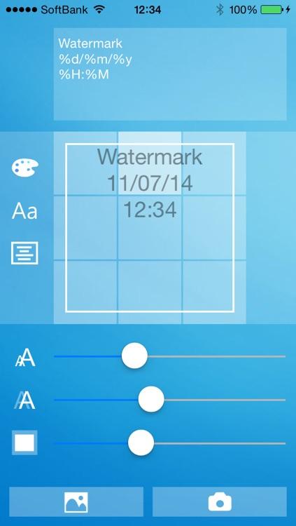 Easy Watermark Camera