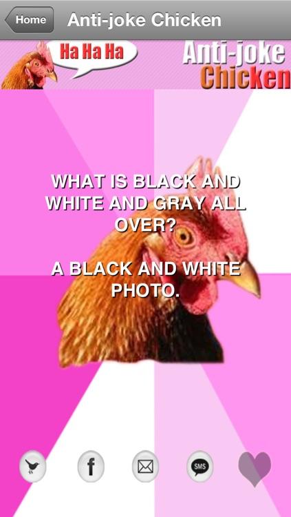 Anti-Joke Chicken meme screenshot-3