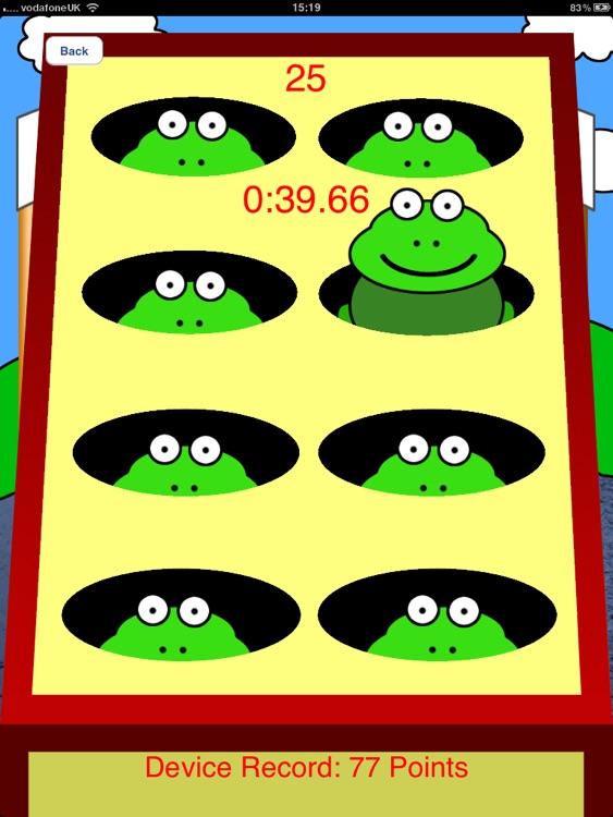 Bash The Frog HD - Tap Game screenshot-4