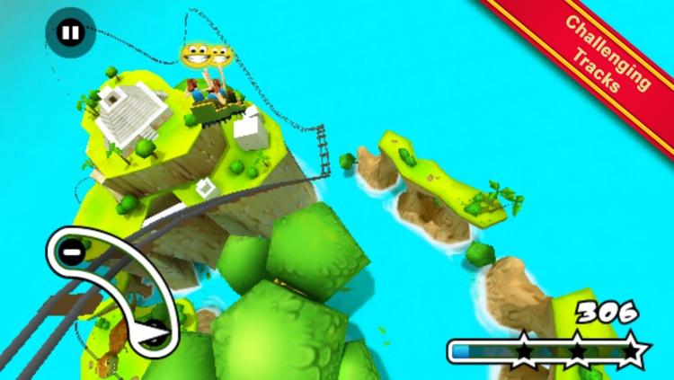 Jurassic 3D Rollercoaster Rush screenshot-4