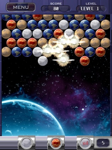 Bubble Shooter Space Edition Скриншоты7