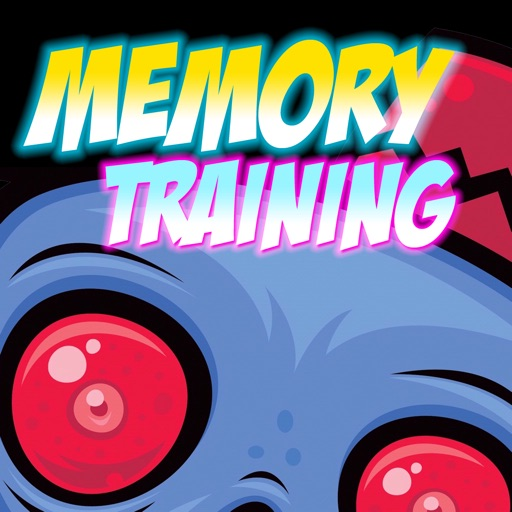 Memory Training Game for Kids - Robots & Vampires icon