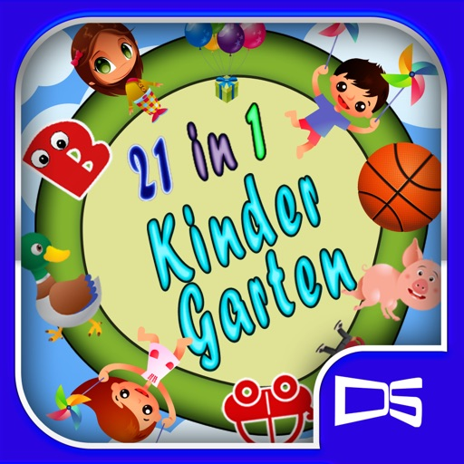 Kindergarten: 21 in 1 kids pack icon
