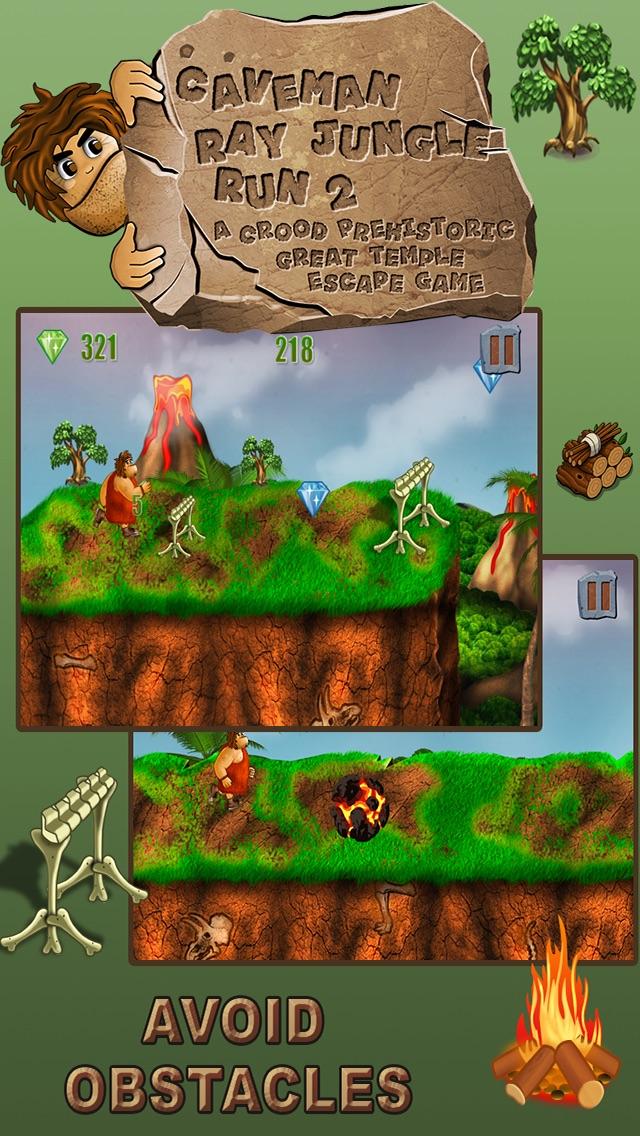 Caveman Jungle Run : A Great Dinosaur Escape Game-Free Edition hack tool