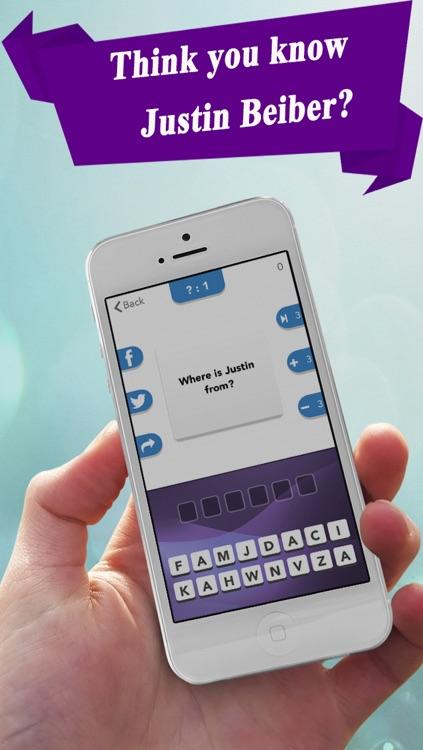 Trivia Challenge - for Justin Bieber fans