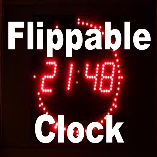 Flippable Clock.Digital Clock