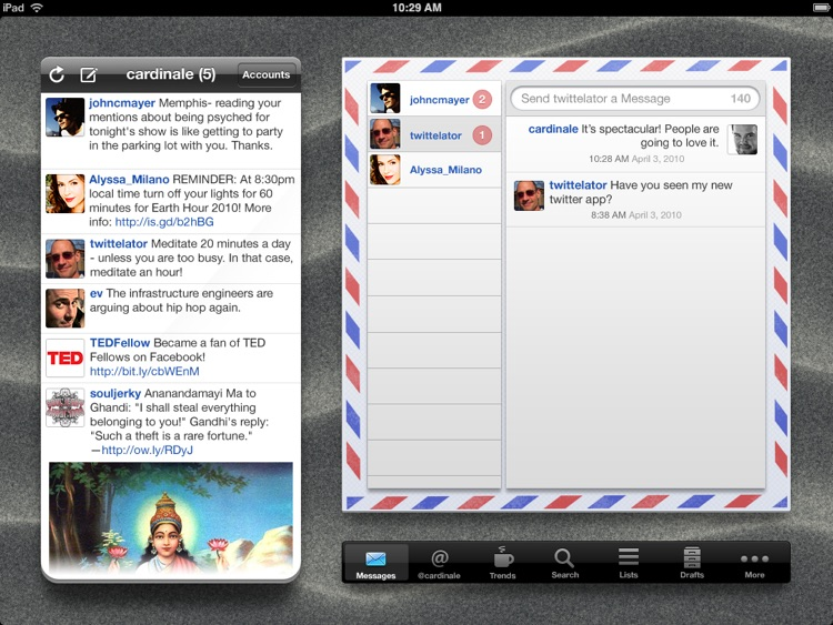 Twittelator for iPad and Twitter