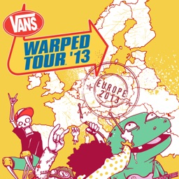 Vans Warped Tour Europe Official App
