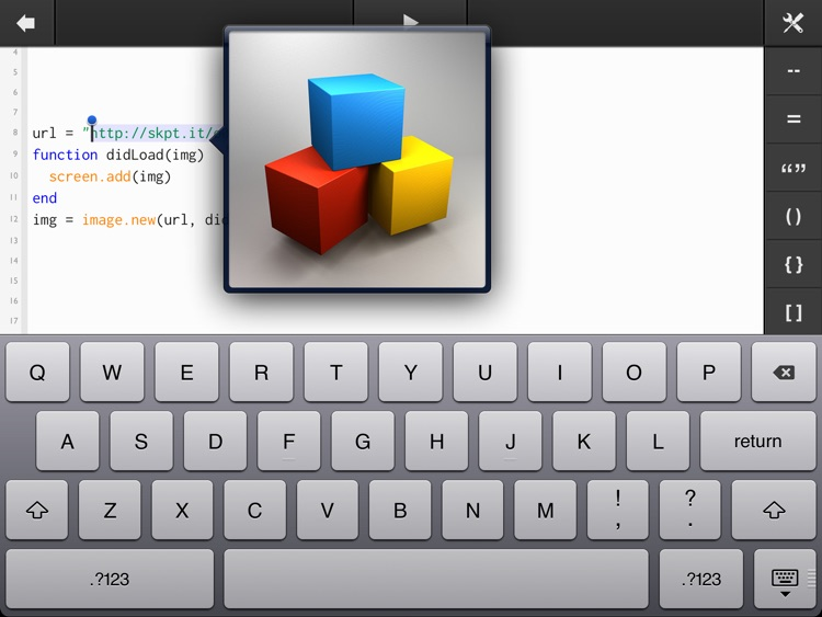 ScriptKit - Drag and Drop Programming for iPad screenshot-3