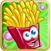 French Fries Happy Day : Street Food Monsters Running Escape