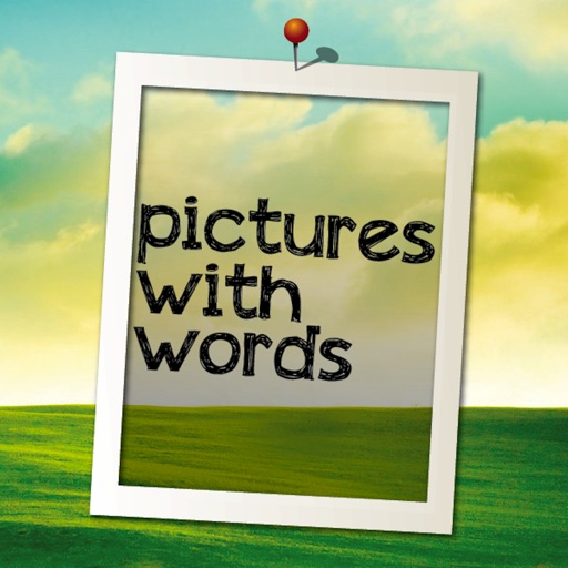 Pictures with Text Free icon