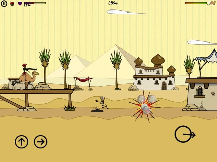 Doodle Army HD screenshot-3