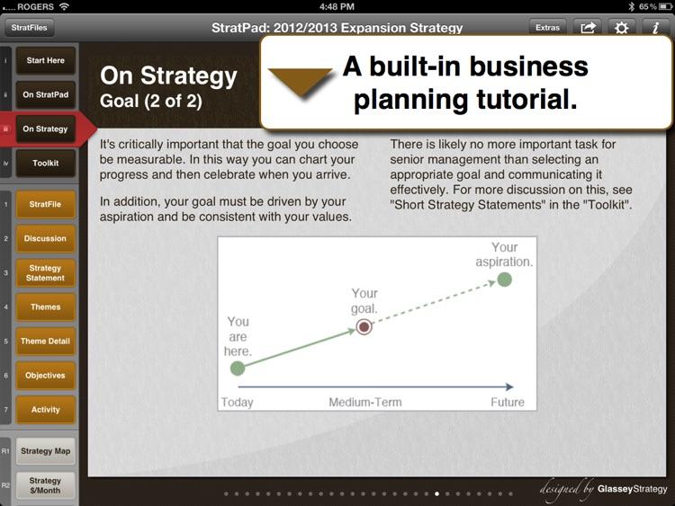 StratPad Business Plan Writer