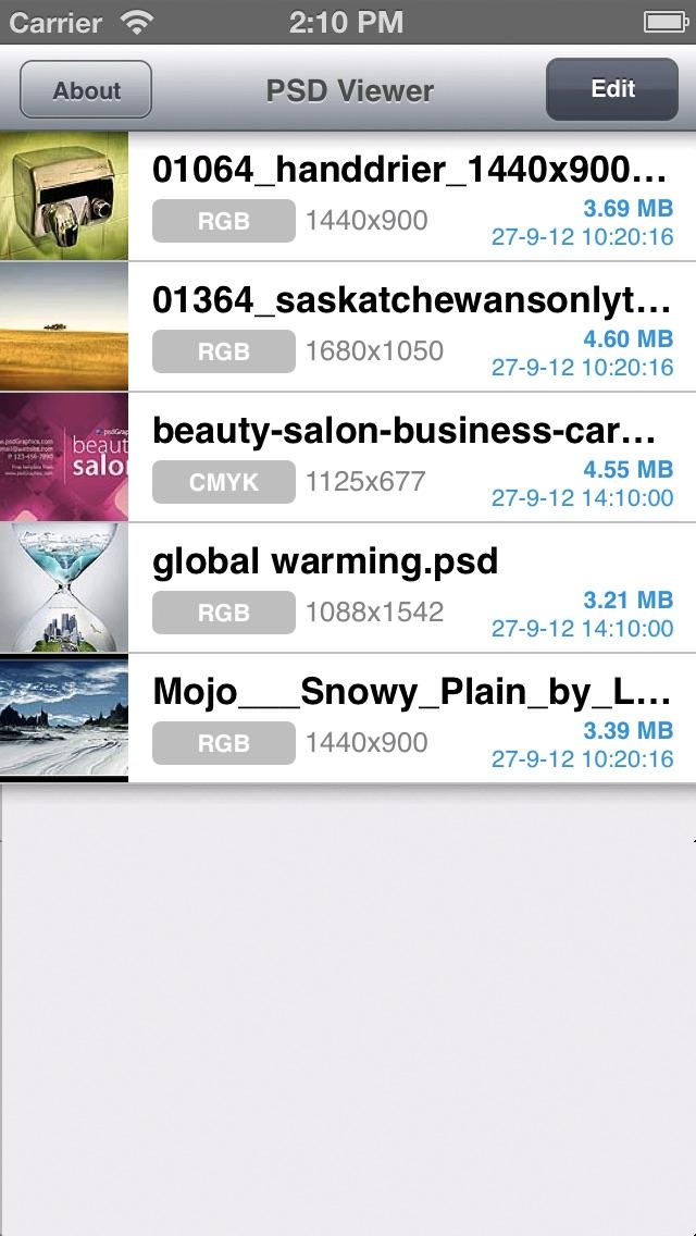 PSD Viewer for Photoshop Screenshot