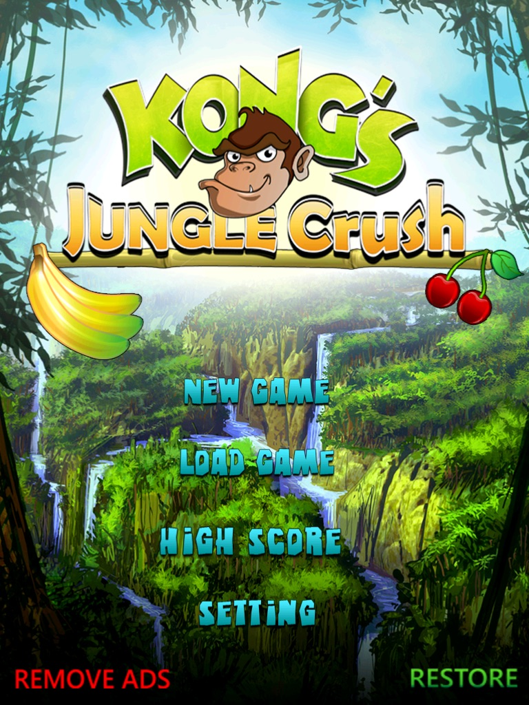 Kong Jungle Crush Fruit Salad Candy Smasher HD