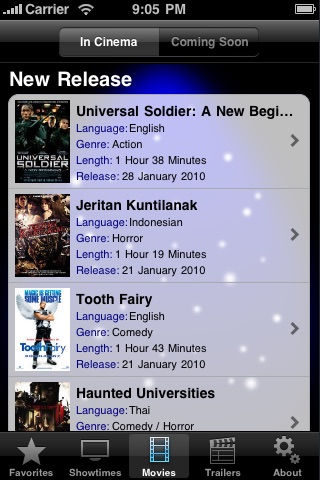 Screenshot #3 for CineApps Malaysia