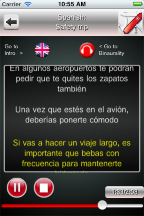 Listen and Learn Spanish screenshot-4