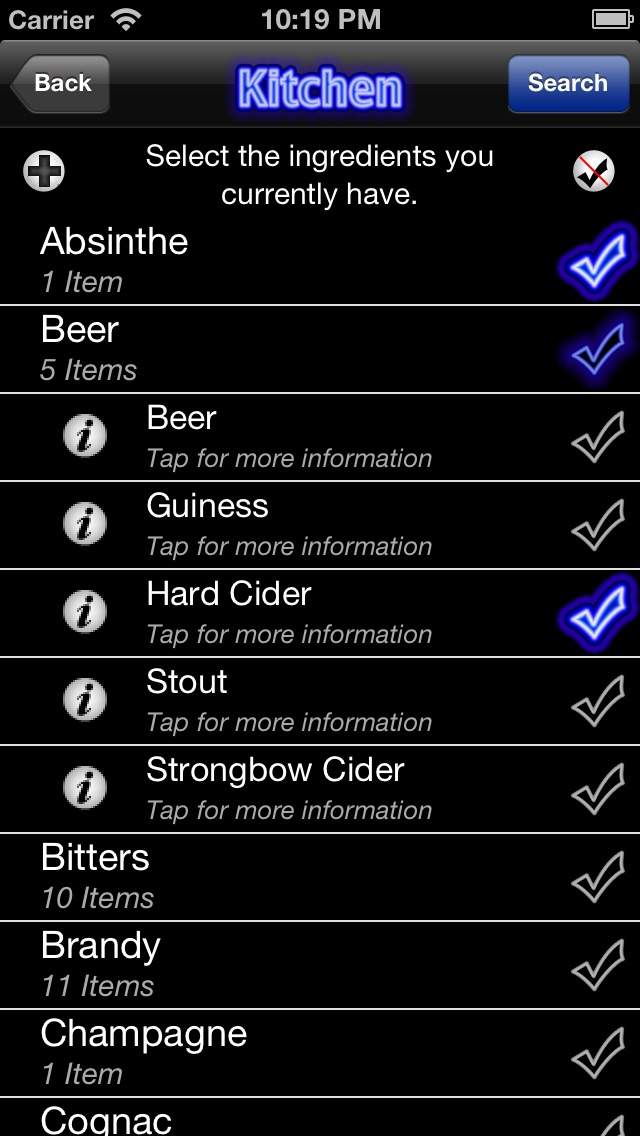 Mr Bartender - Mixed Drink, Bartending & Cocktail Recipes iPhone