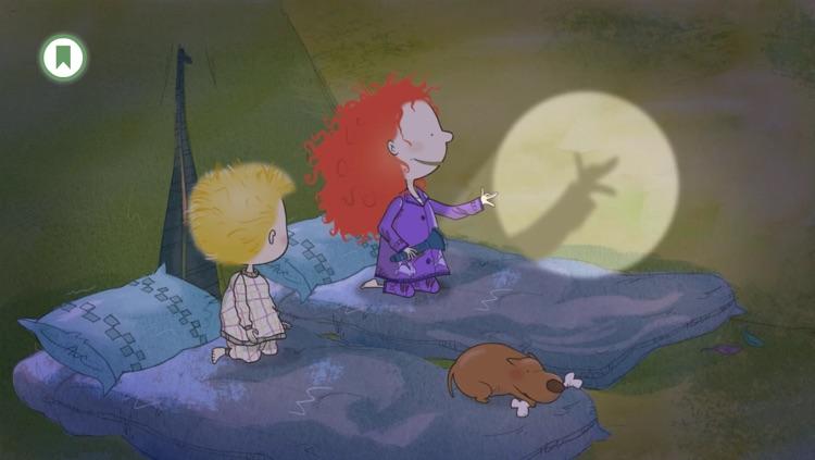 Backyard at Twilight: A Stella and Sam Adventure