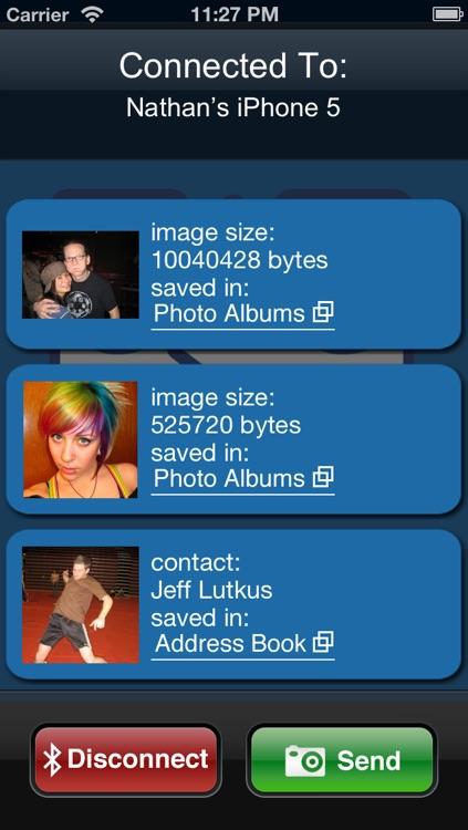 Bluetooth Photo Share Pro screenshot-4