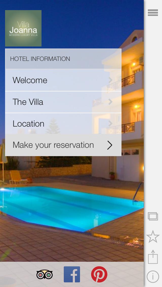 Villa Joanna screenshot one
