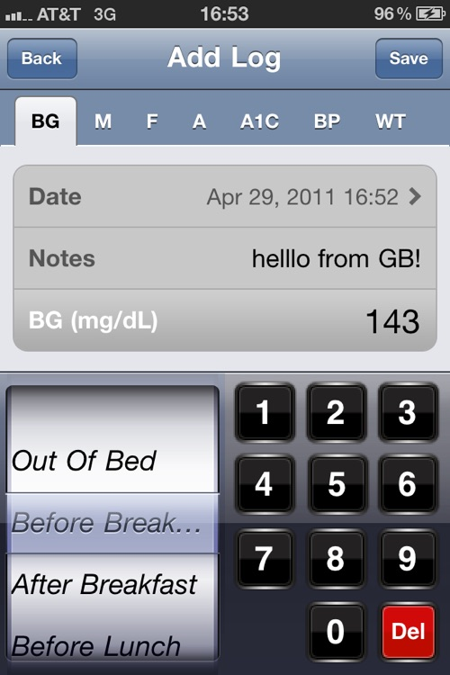 Glucose Buddy - Diabetes Logbook Manager w/syncing, Blood Pressure, Weight Tracking