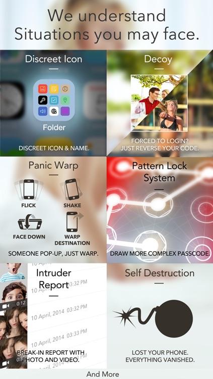 Secret Folder Icon - Private Folder Manager Vault screenshot-3