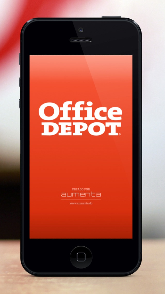 Office Depot Realidad Aumentada screenshot one