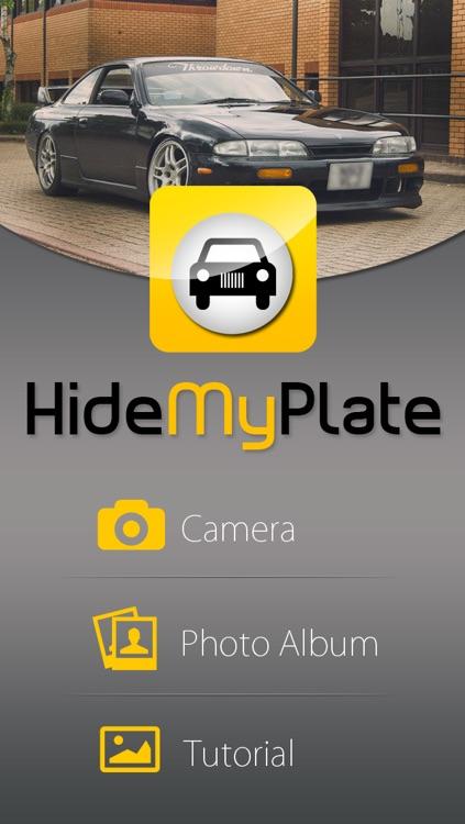 HideMyPlate