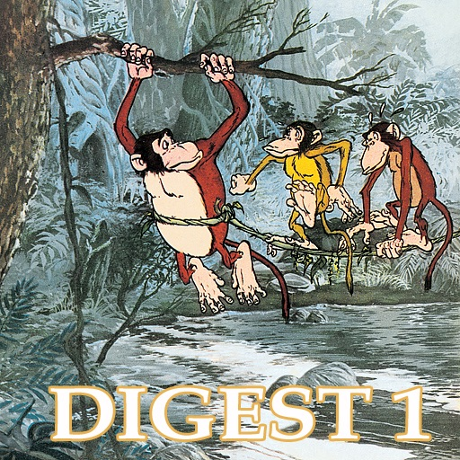 Jataka Tales Triple Digest 1 -  Amar Chitra Katha Comics