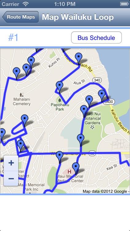 Maui Bus Routes screenshot-3