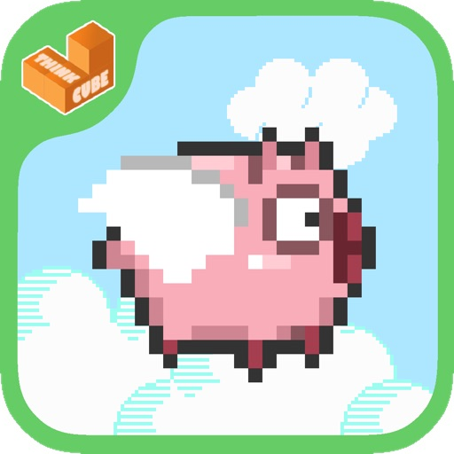 Fly Fly Pig -A Flappy Adventure icon