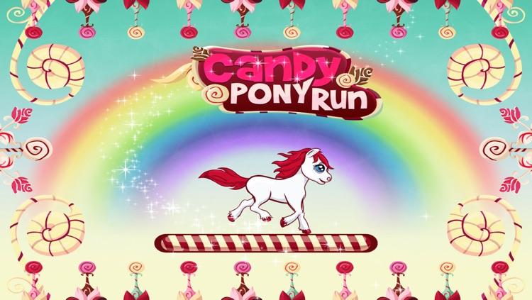 Candy Pony Run - Sweet Jumping Game Saga