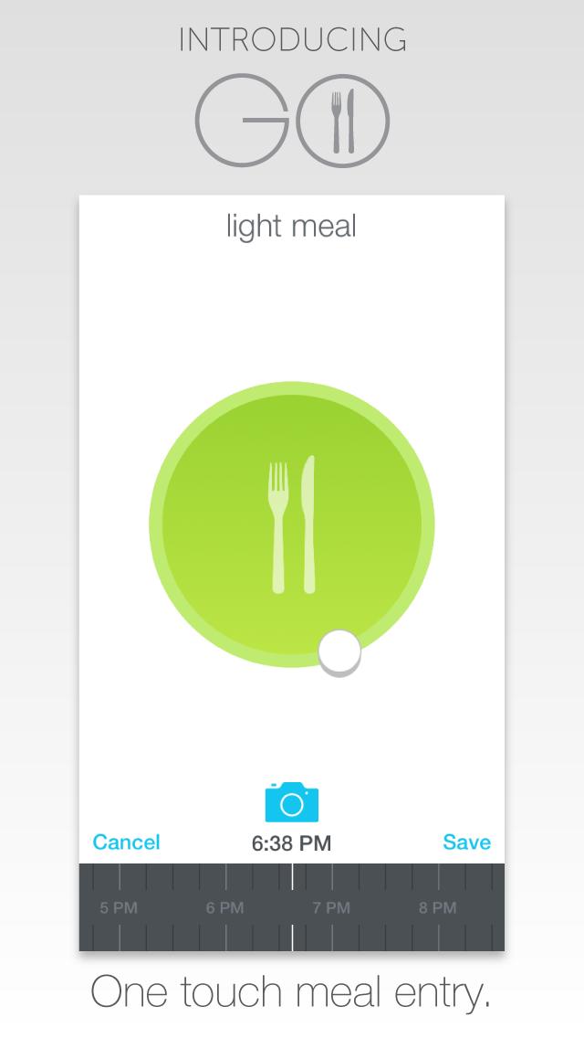 GO - Meal and Fitness Trackerのおすすめ画像1