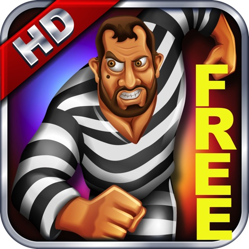 Robber King Run & Jump to escape from Prision FREE HD icon