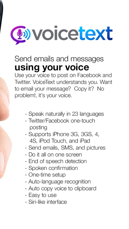 Voice Text Plus - Speech Translator and Dictation Assistant screenshot-3