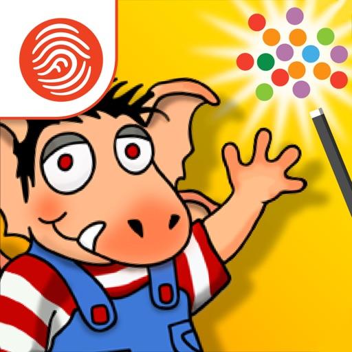 Little Monster at School - A Fingerprint Network App