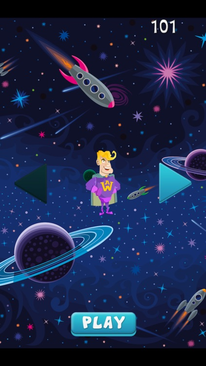 A super-hero in space – action jumping game from another galaxy with heroes screenshot-4