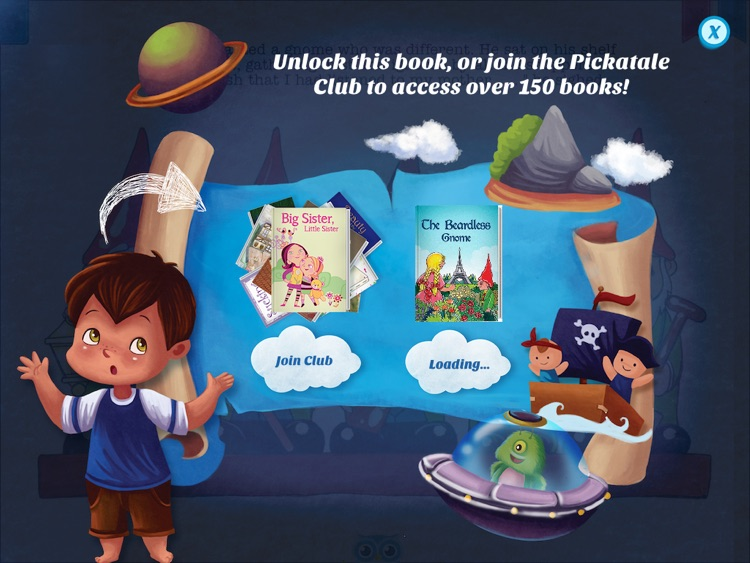 The Beardless Gnome - Have fun with Pickatale while learning how to read. screenshot-4
