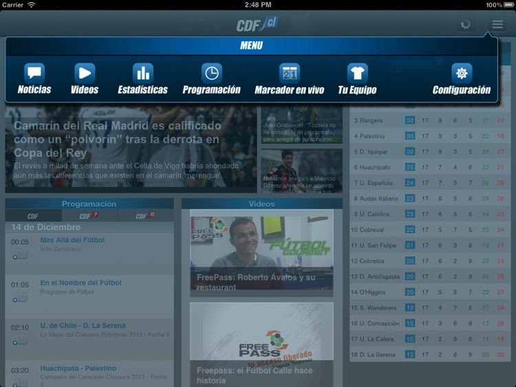 CDF Chile para iPad screenshot-1