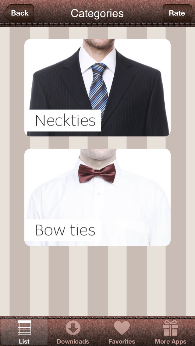 How to Tie a Tie — 3D Animated Screenshot