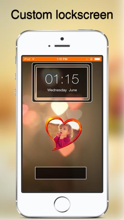 Lockz - Custom Lockscreen wallpaper for iOS7 screenshot-3