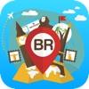 Brazil offline Travel Guide & Map. City tours: Rio De Janeiro Rude,Sao Paulo,Salvador,Brasilia