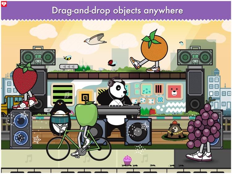 Fresh Fruits: Rhythm of the City screenshot-4