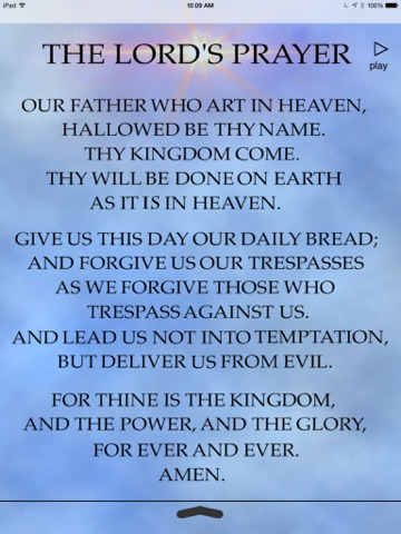 The Lords Prayer Anointed-ipad-2